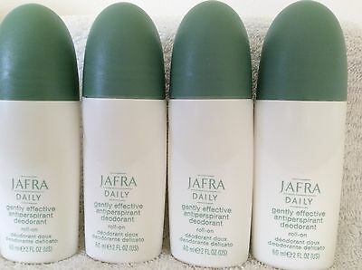 JAFRA   4x Anti-Perspirant Deo Roller, a 60 ml - NEUES DESIGN -