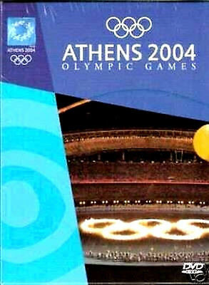 Athens 2004 Olympic Games + Ceremonies + Book - 4 Dvd Box - Official Edition Pal