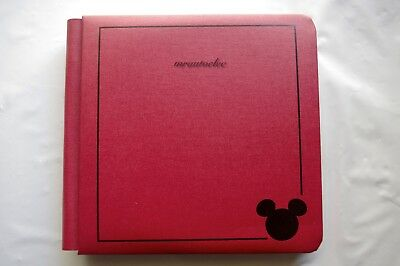 Creative Memories Red Mickey 7x7 Album Coverset WITH WHITE PAGES BNWOP