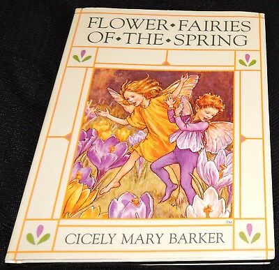 Cicely Mary Barker Spring Flower Fairies 20 Beautiful Pictures Faerie Fairy Book