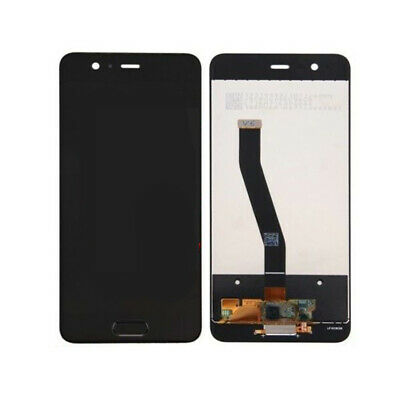 Touch Screen Vetro + Lcd Display Per Huawei P10 Vtr-L09 Vtr-Al00 Nero