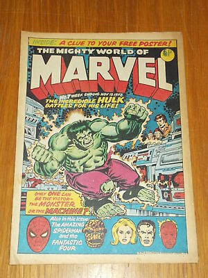 Mighty World Of Marvel #7 18Th November 1972 British Weekly Comic