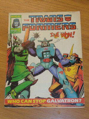 Transformers #120 4Th July 1987 British Weekly Marvel Uk Comic*
