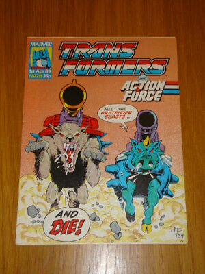 Transformers British Weekly #211 Marvel Uk Comic 1989