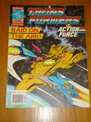 Transformers British Weekly #242 Marvel Uk Comic 1989