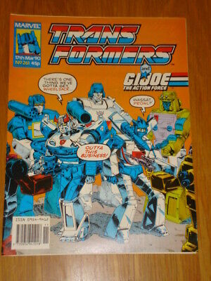 Transformers British Weekly #261 Marvel Uk Comic 1990