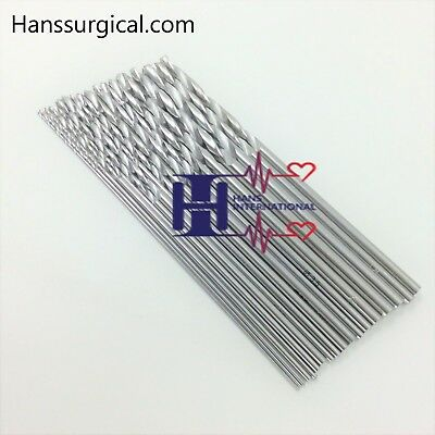 Orthopedic Drill Bits  stainless steel 14 pieces set  orthopedics Instruments