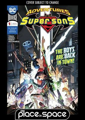 Adventures Of The Super Sons #1A (Wk31)
