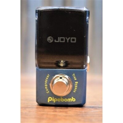 Joyo Audio Ironman Series JF-312 Pipe Bomb Compressor Mini Guitar Effect Pedal