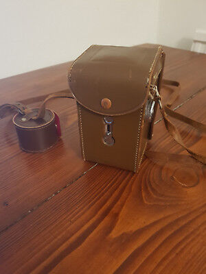 Antique Vintage TLR Camera - Halina AI in Case with lens kit
