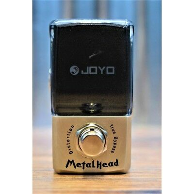 Joyo Audio Ironman Series JF-315 Metal Head Distortion Mini Guitar Effect Pedal