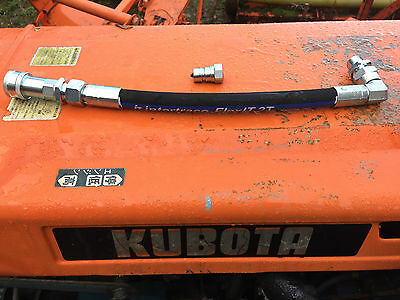 Kubota tractor Hydraulic trailer tipping pipe assembly