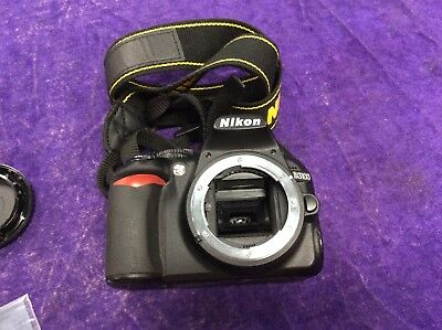 Nikon D D3100 14.2MP Digital SLR Camera - Black (Body Only) AS IS