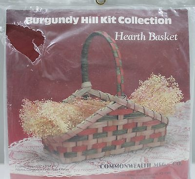 Burgundy Hill Kit Collection Hearth Basket