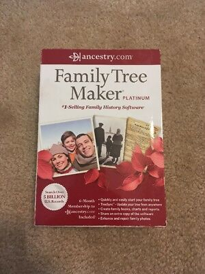Family Tree Maker Platinum 2012 Family History Software 2 Discs Companion Guide