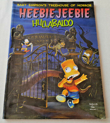 Simpsons Heebie Jeebie Hullaballoo by Matt Groening