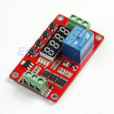 5V / 12V / 24V Relay Cycle Timer PLC Home Automation Delay Multifunction L40
