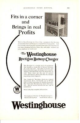 1927 ad Vintage Automobobile car part Westinghouse Battery Charger ABP Papers