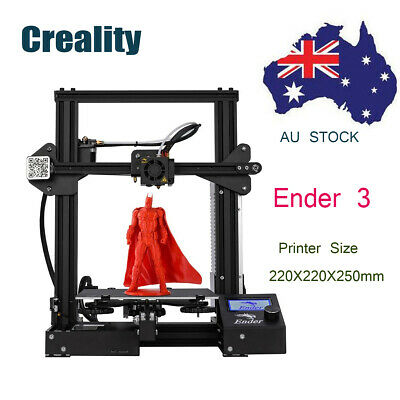 Removable Plate Ender 3 3D Printer OSHW Certified 220X220X250mm Christmas Gift