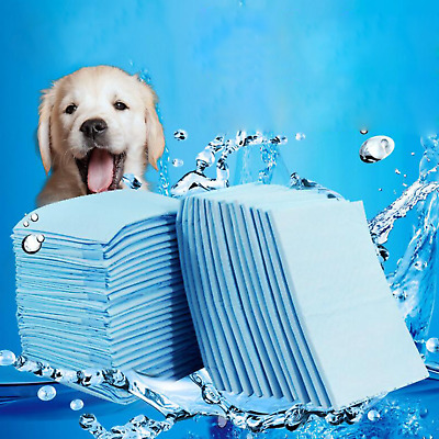 Dog Puppy S/M/L/XL Training Pads Pad Pee Wee Floor Toilet Mats - 20/40/50100Pcs