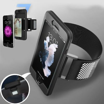 US Sports Running Jogging Gym Armband Arm Band Phone Holder Strap For iPhone 7/8