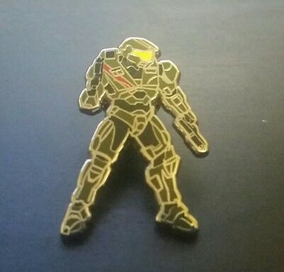 "Halo MASTER CHIEF 1.25"" Enamel PIN Hero Complex Gallery Brand NEW Poster Print"