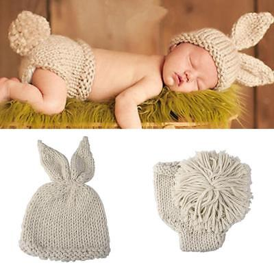Newborn Baby Girl Boy Prop Outfit Knit Clothes Photo Crochet Costume Phot New