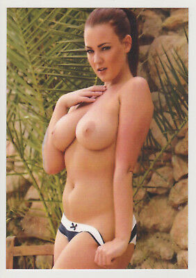 Postcard Pinup Risque Nude Stunning Girl Extremely Rare LAST ONE Post Card 8237
