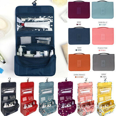 584dcf74f0 Organizer Bag Hanging Travel Camping Makeup Cosmetic Toiletry Bathroom Wash  Kit
