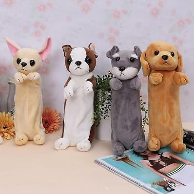 Plush Dog Soft Make-up Cosmetic Bag Pouch Purse Pencil Case Gift Free Shipping