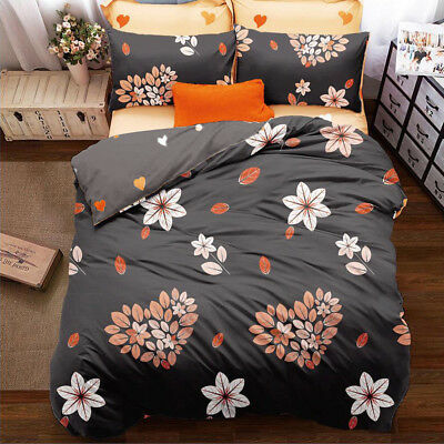 All Size New Quilt Doona Duvet Cover Set Bed Bedding - Loving Season