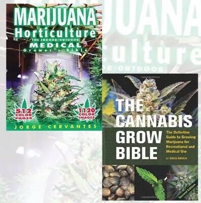 Cannabis Grow Bible & Medical Marijuana Growers Book (READ FULL DESCRIPTION) **