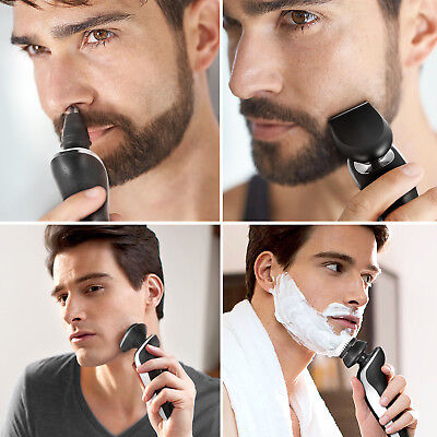 4 In 1 Professional Electric Shaver Men's Razor Waterproof Nose Hair Trimmer