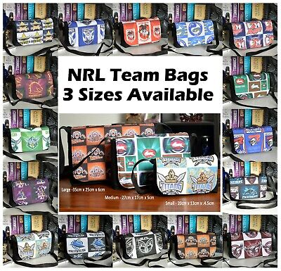 NRL Teams bag / clutch_ Rugby League All Teams 3 Sizes available