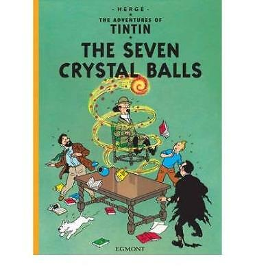 Seven Crystal Balls by Herge New Hardback Book