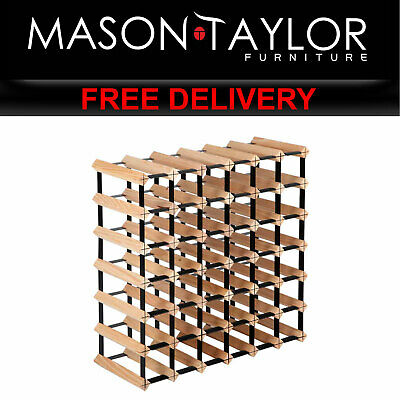 Mason Taylor 42 Bottle Timber Wine Rack  AU WINE-RACK-42B AU