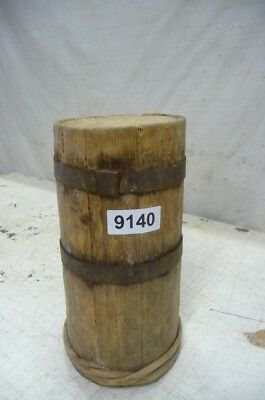 9140. Altes Holzfass Fass Holzbehälter Old wooden barrel