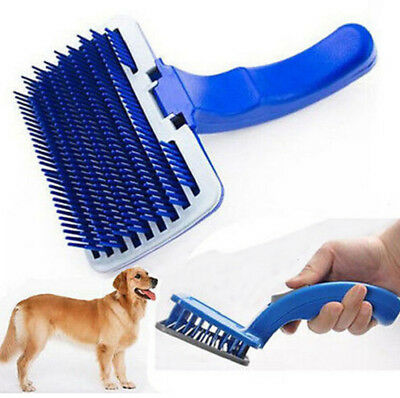 Pet Dog Cat Gentle Deshedding Brush Grooming brush comb Hair Fur Removal Tool