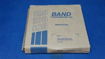 "ISO Band Stainless Steel Banding 3/4"" x .030"" x 100' BA206"