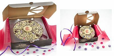 Unicorn Chocolate Pizzas Gift Gourmet Chocolate Present Magical