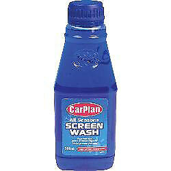 CarPlan 500ml All Seasons Screen Wash Concentrate Professional Wind Screen Clean