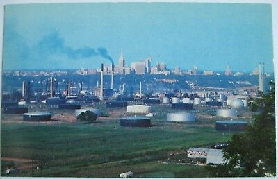 Postcard OK Skyline of Tulsa Oklahoma