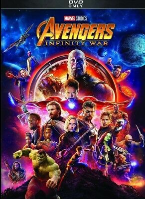 Avengers: Infinity War (DVD,2018) *DISC ONLY*NEW* Action, Adventure*Now Shipping