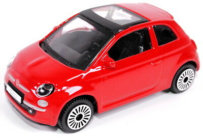 Fiat 500 Model Car 1/43 Scale Red Only New Genuine 6002350450