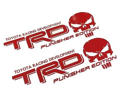 Trd Punisher Edition Decals Toyota Tacoma Tundra Truck