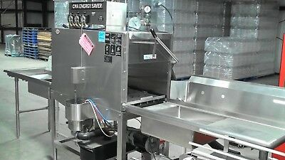 CMA Double Rack Model B Energy Saver Commercial Dishwasher -EXCELLENT Condition