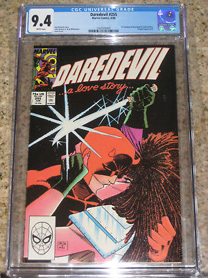 Daredevil #255 CGC 9.4 Typhoid Mary 2nd Appearance (Not 254)