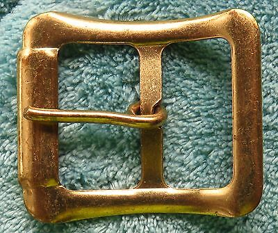 "1"" Gold Plated Light Belt Buckle $1.50 Each Free Shipping"