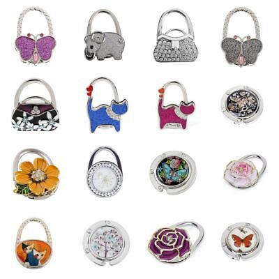 25 Styles Folding Bag Handbag Tote Table Hanger Hook Holder Purse Hanger Holder