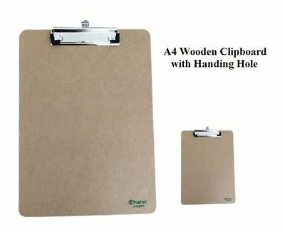 A4 Clipboard with Hanging Hole Clip Board Office School Work Paper Board